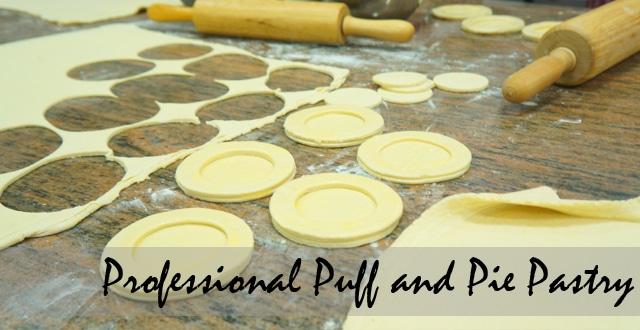สอนทำพายกรอบ Professional Puff and Pie Pastry เรียนทำพัฟ,พาย