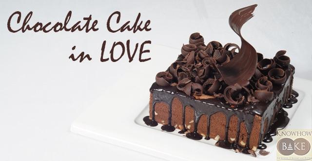 เรียนทำเค้กช็อกโกแลต Chocolate Cake in LOVE เรียนทำเค้กช็อกโกแลต