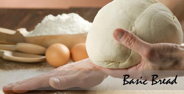 โรงเรียนสอนทำขนมปัง Basic Bread เรียนทำขนมปังขั้นพื้นฐาน
