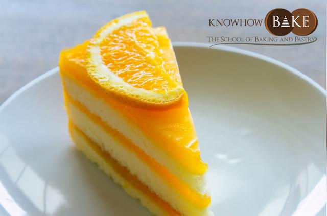 เรียนทำเค้กส้มหน้านิ่ม1