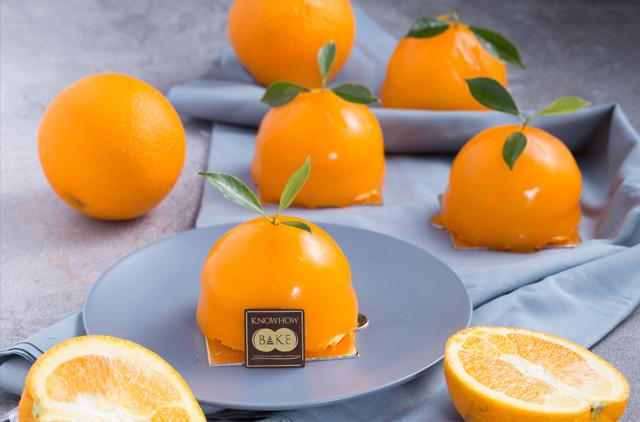 เรียนทำเค้กส้มหน้านิ่ม