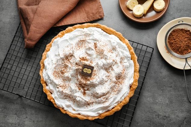 เรียนทำ banana cream pie