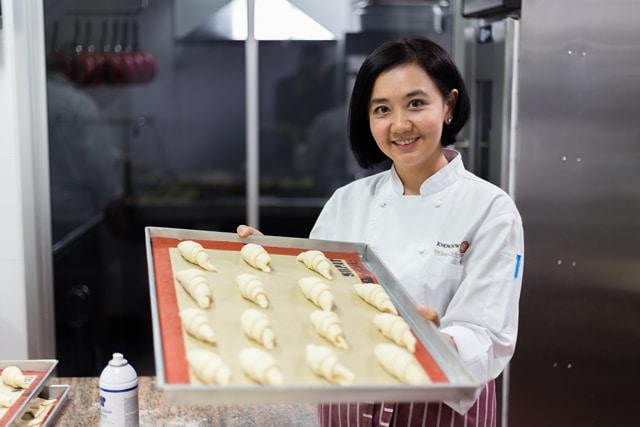 สอนทำครัวซอง