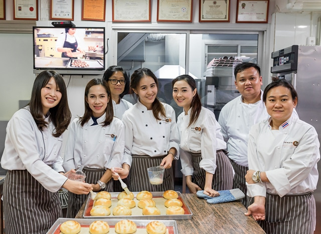 bakery school in bangkok